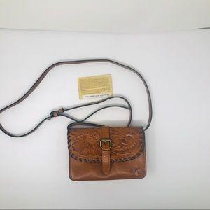 Patricia Nash leather Torri crossbody Bag